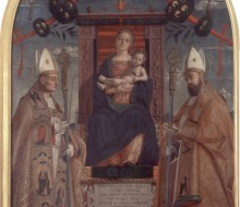 Madonna and Child Enthroned with Saints Zeno and Nicholas