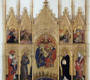 Coronation of the Virgin with Saints (Valle Romita Polyptych)