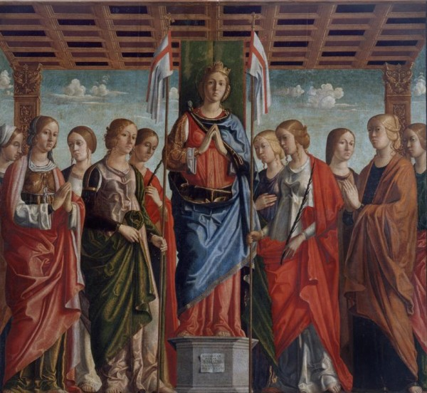 St. Ursula among the Virgins
