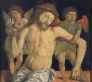 Cristo morto sostenuto da due angeli