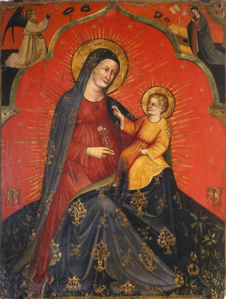 Madonna and Child and Annunciation