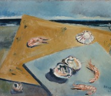 Marine Still Life with Scampi