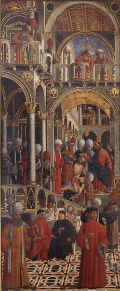 Saint Mark Baptizing Anian
