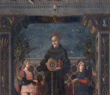 Saint Bernardine of Siena and Angels