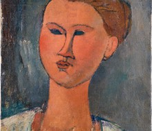 Head of a Young Lady