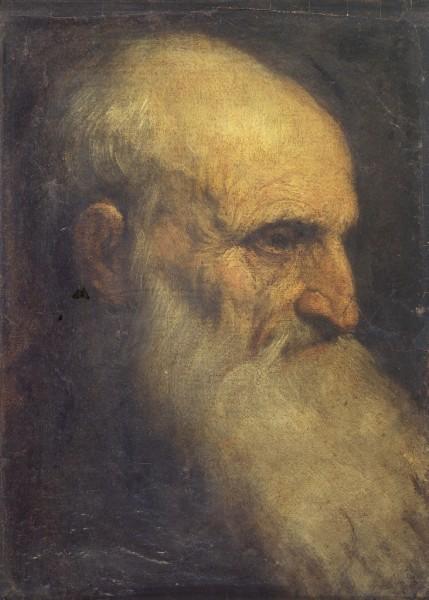 Ritratto di padre Giuliano Cirno (recto); Busto di Bambina (verso)