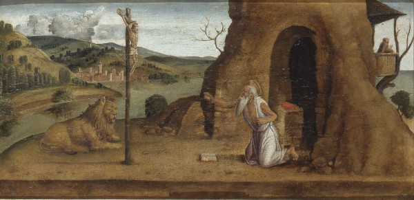 St. Jerome in the Desert