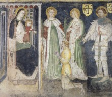 Madonna and Child with St. Catherine, St.Ursula, St. George and the Patron, Theodoric of Chur