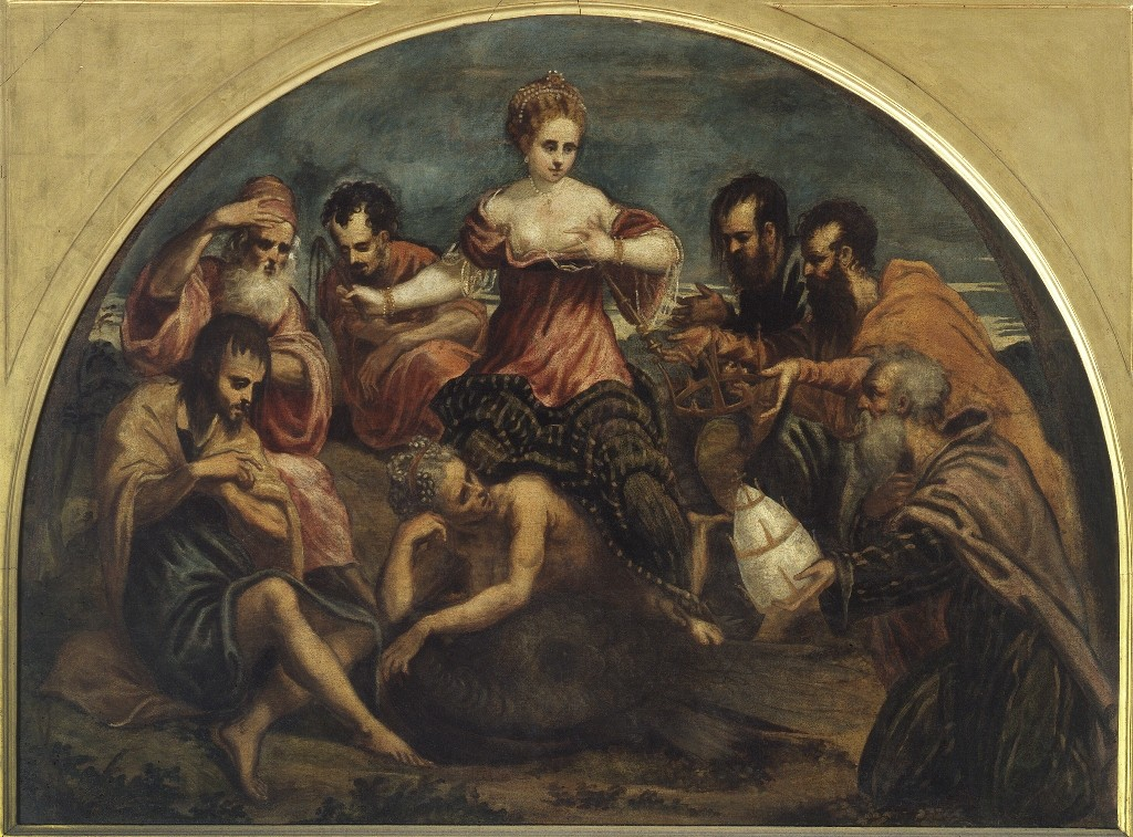 Allegory Of The Fortune Pinacoteca Di Brera