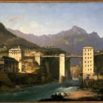 Marco Gozzi, Ponte di Creola sulla strada del Sempione, 1821