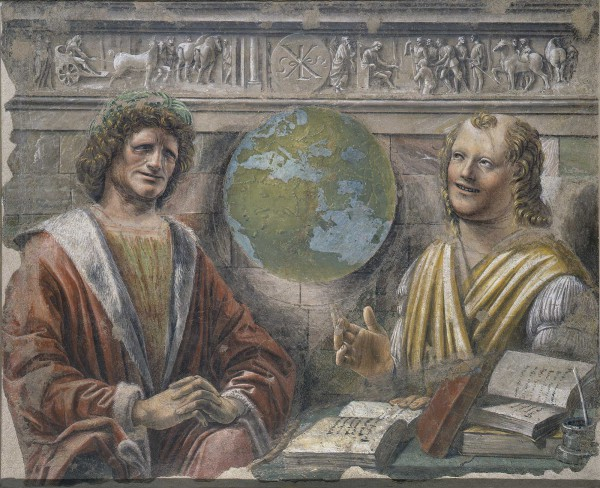 Heraclitus and Democritus