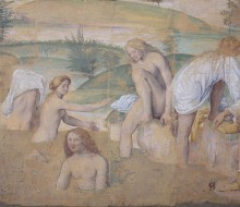 Girls Bathing