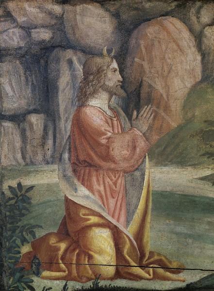 Preghiera di Mosè sul Monte Sinai