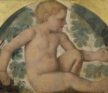 Putto under an Arbor