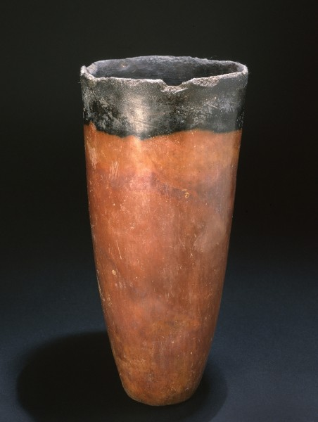 Black Topped Red Ware Beaker
