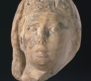 Female Head with Veil and Crown