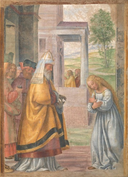 The Virgin Leaving the Temple