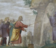 Moses Brings out Water from the Rock