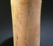 Vaso cilindrico con bordo distinto