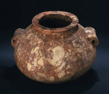 Vessel with Everted Rim and Lug Handles