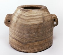 Conical Vessel with Lug Handles