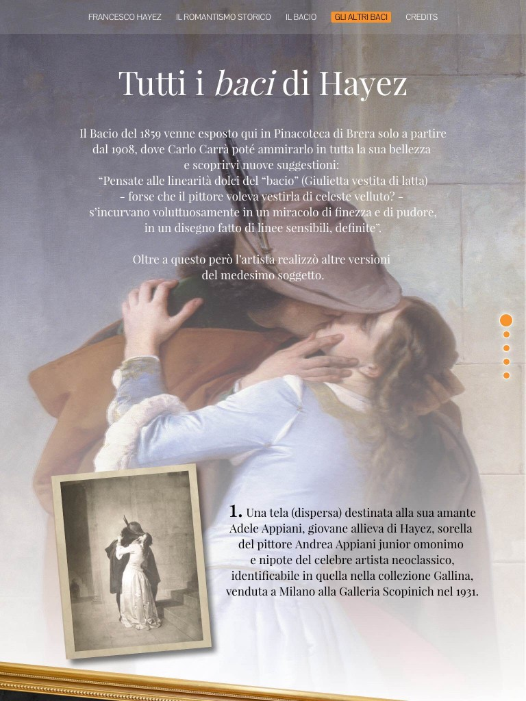 """Il """"Bacio"""" di Hayez"""