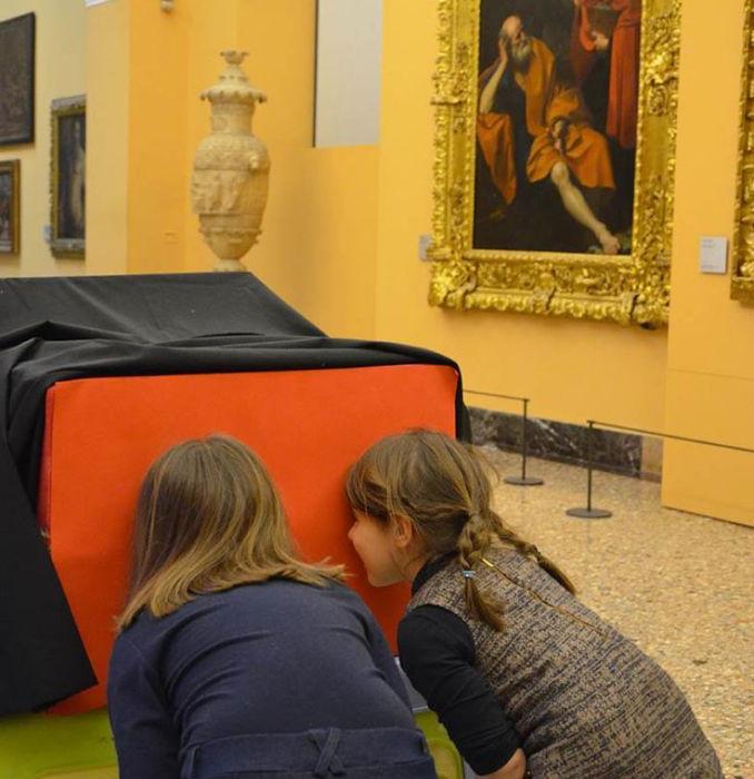 Accendi le luci e scopri Caravaggio