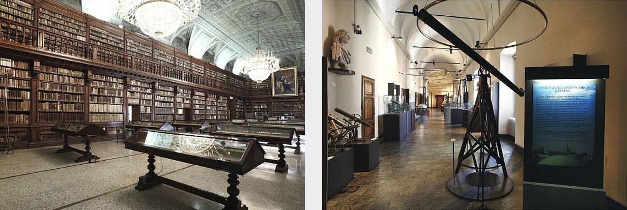 Biblioteca Nazionale Braidense and Museo Astronomico
