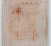 Studi tecnici, progetto di un contatore d'acqua per Bernardo Rucellai (verso)