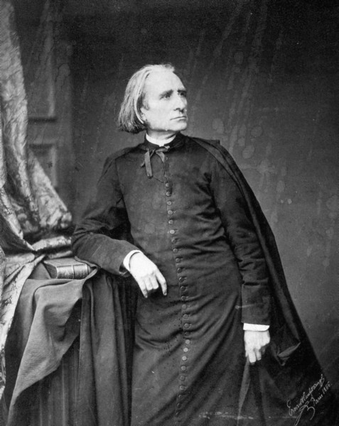 Franz Listz in abito talare