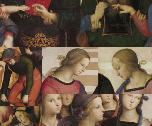 Perugino and Raphael, the <em>Marriage of the Virgin</em>. A dialogue between the master and the pupil