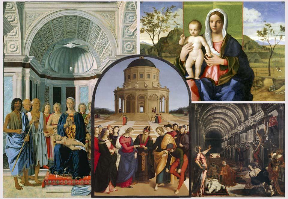 L'architettura dipinta del Rinascimento