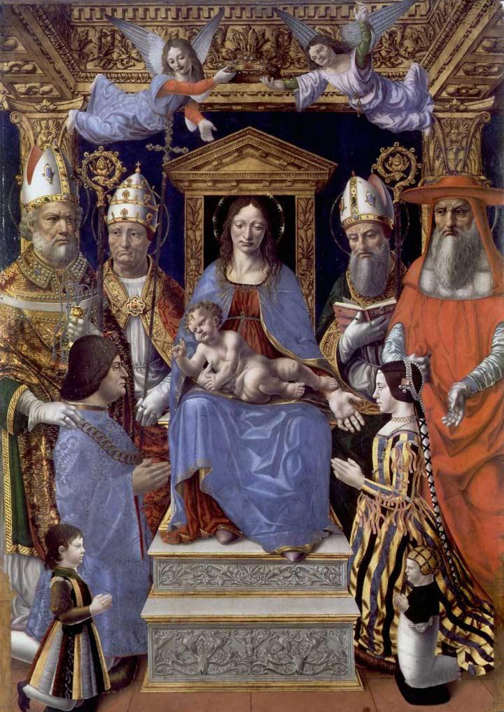 La Milano degli Sforza: artisti locali e forestieri