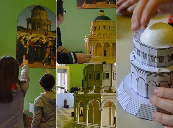 Costruisci il tempio di Raffaello