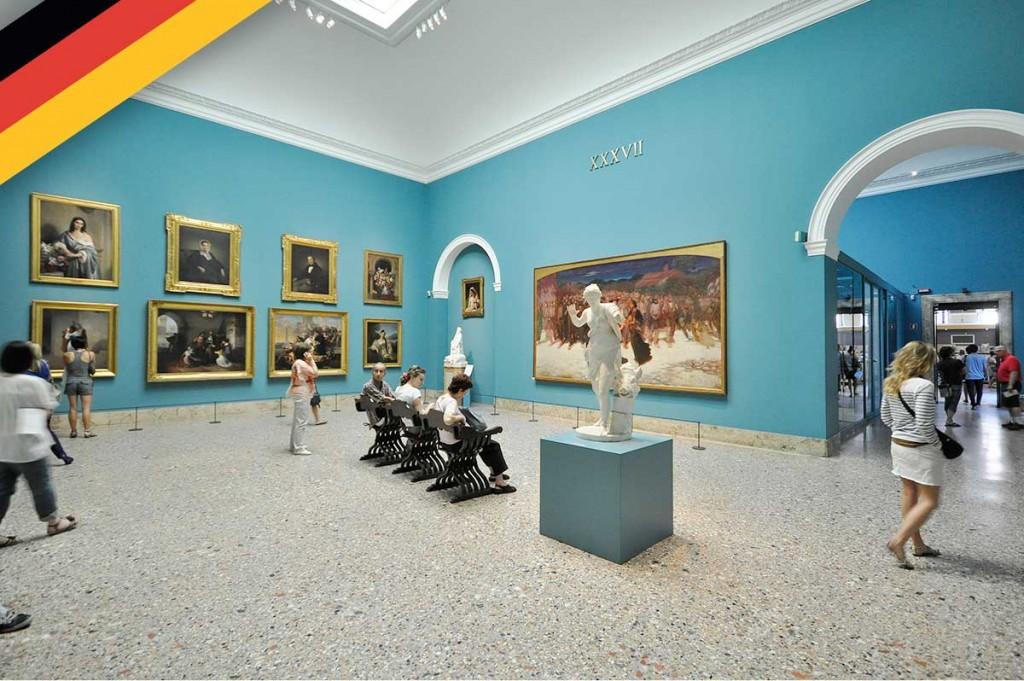 Gespräche in der Galerie