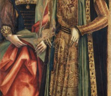 Saints Catherine of Alexandria and Sebastian