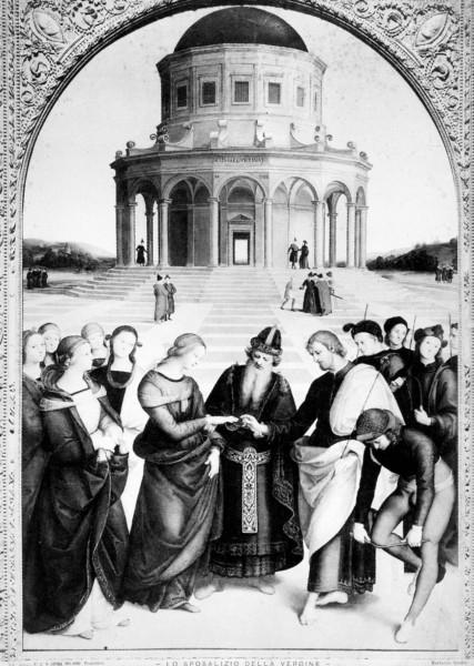 Sposalizio della Vergine, Raffaello