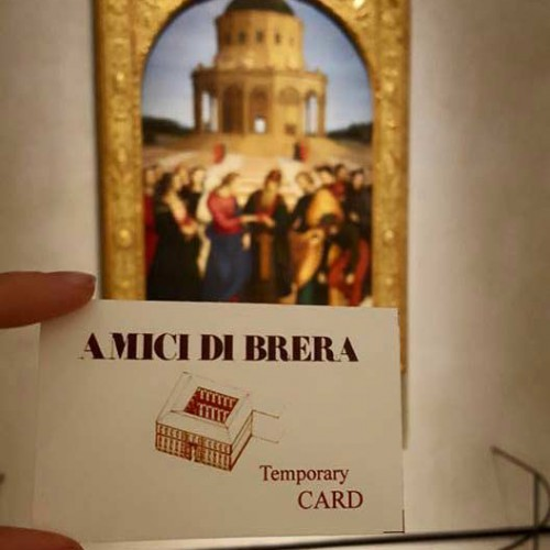 Become a Friend of Brera!