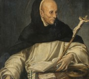 Portrait of a Friar Dressed as St. Thomas Aquinas