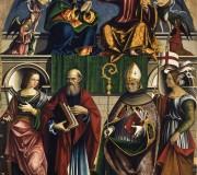 Incoronazione della Vergine con i santi Caterina d'Alessandria, Giovanni Evangelista, Bonaventura e Orsola