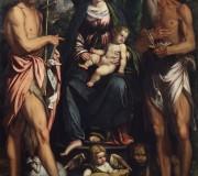 Madonna con il Bambino e i Santi Giovanni Battista e Girolamo