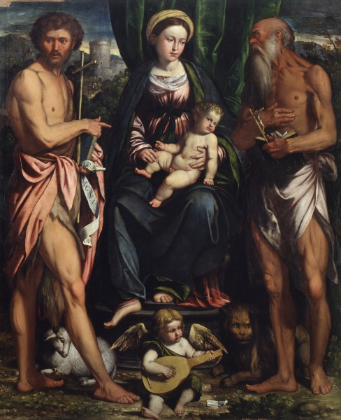 Madonna and Child with St. John the Baptist and St. Jerome