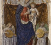 Madonna and Child with God the Father and angels