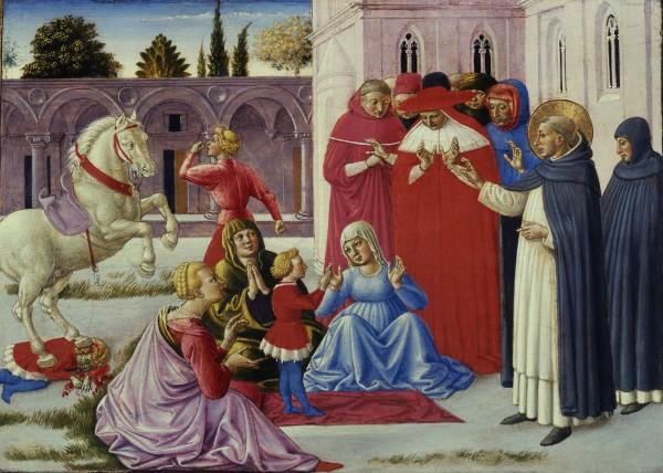 San Domenico resuscita Napoleone Orsini