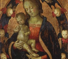Madonna and Child with a Choir of Cherubs