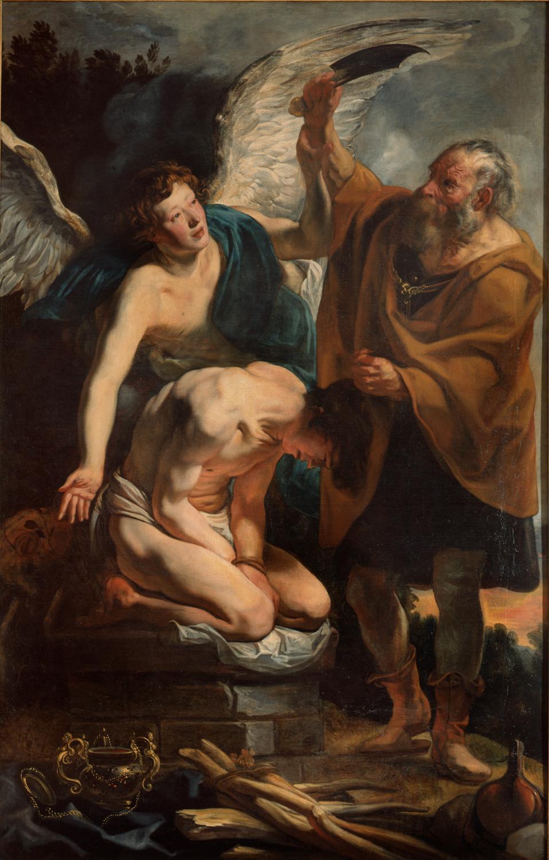 The Sacrifice of Isaac | Pinacoteca di Brera