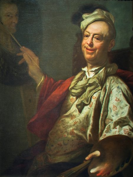 Self-Portrait of the Artist at his Easel