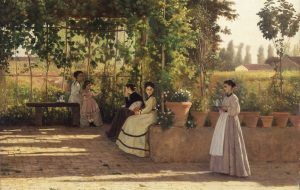 Ferragosto at the Pinacoteca