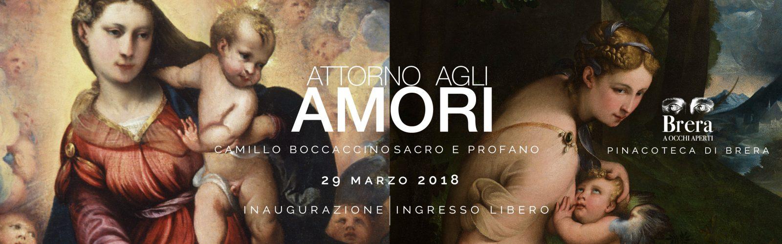 """Inaugurazione sesto dialogo """"Attorno agli amori. Camillo Boccaccino sacro e profano"""""""