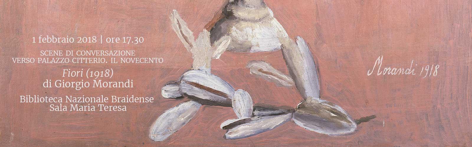 <em>Fiori (1918)</em> di Giorgio Morandi